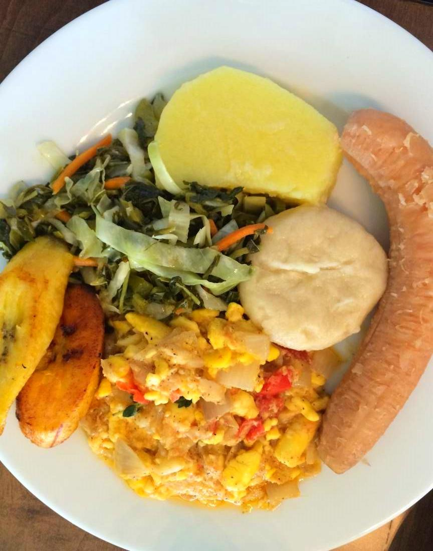 Grace 39 s cafe good jamaican food for Jamaican salt fish